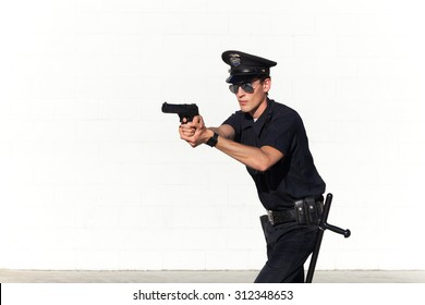 Police officer on duty