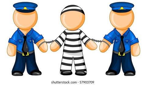 prison guard images stock photos vectors shutterstock rh shutterstock com prison officer clipart prison officer clipart