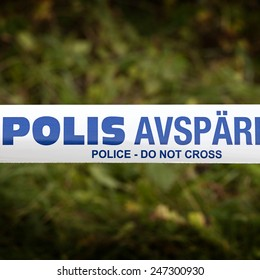police in sweden