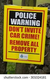 police warning