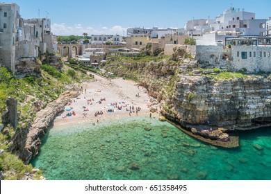 Polignano a Mare, Bari Province, Apulia (Puglia), southern Italy.