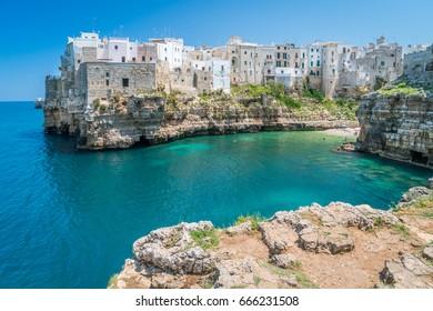 Polignano a Mare, Bari Province, Apulia, southern Italy.