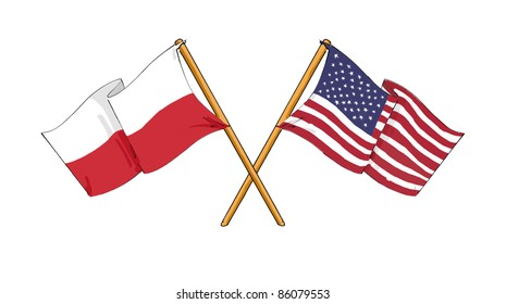 Polish - American alliance and friendship