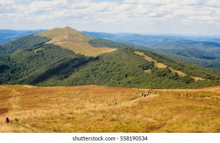 Polish Bieszczady mountains - Polonina Wetlinska