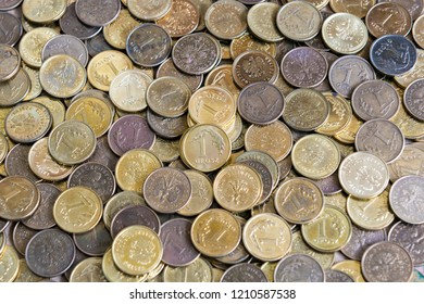 Polish coins, PLN, Polish money
