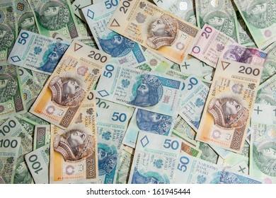 Polish currency - PLN - Polish zloty