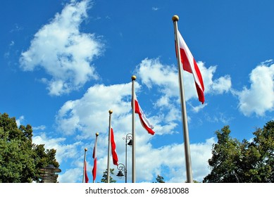 Polish flags