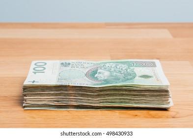 Polish money 100 z?