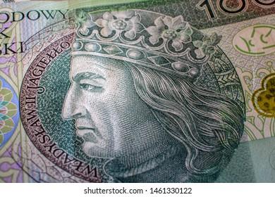Polish money, 100 PLN, Polish Zloty, 100 zł