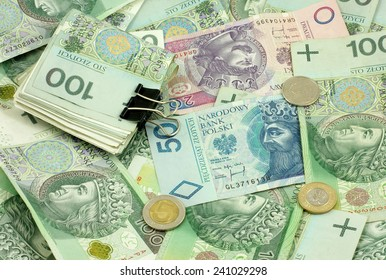 Polish money (bills, coins)