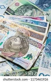 polish money business background