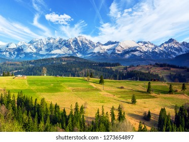 Polish mountains Tatry