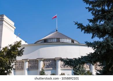 Polish Parliament in Warsaw