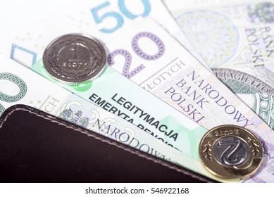 Polish pensioner card, Social Insurance ZUS