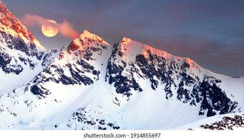 Polish and Slovak Tatras in the spring and winter are beautiful, the glaciers and rocky peaks are similar to the Alps and the Caucasus and are very popular with climbers.