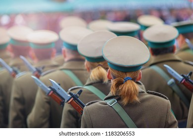 Polish soldiers, Army parade