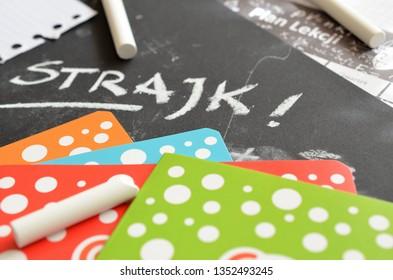 Polish teachers' strike