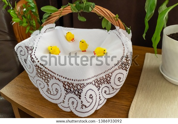Easter Traycloth