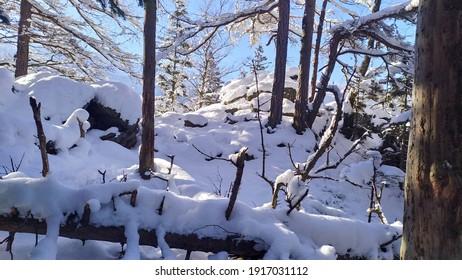 Polish winter in Karkonosze mountains - Shutterstock ID 1917031112