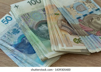 Polish zloty, money, Different nominal