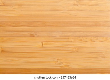Polished bamboo planks close up texture background