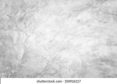 Polished bare concrete wall texture background surface white color