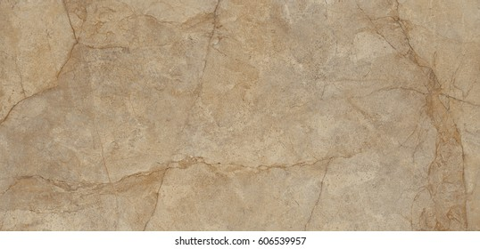 Polished brown marble. Real natural marble stone texture and surface background.