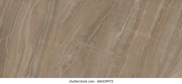 Polished brown marble. Real natural marble stone texture and surface background. Onyx