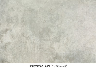 Polished cement surface