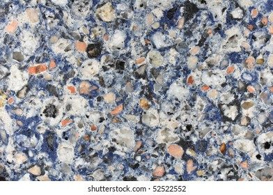 polished granite texture blue white