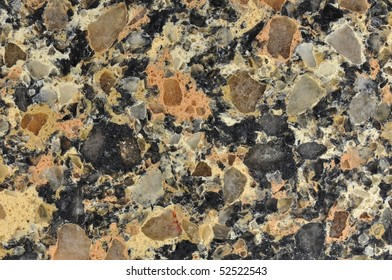 polished granite texture brown black