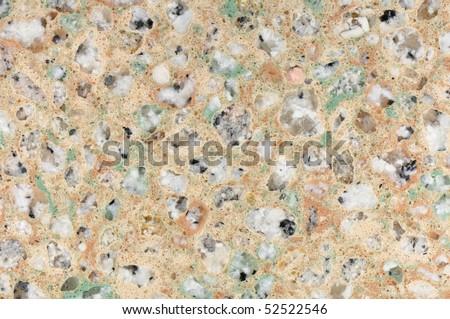 Polished Granite Texture Tan Cream