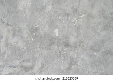 Polished grey new concrete texture