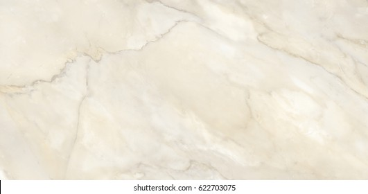 Polished ivory marble. Real natural marble stone texture and surface background.