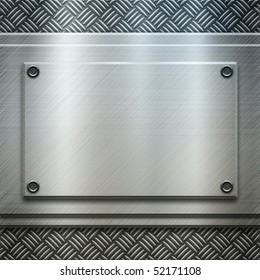 polished metal template (find more textures and templates in my portfolio)