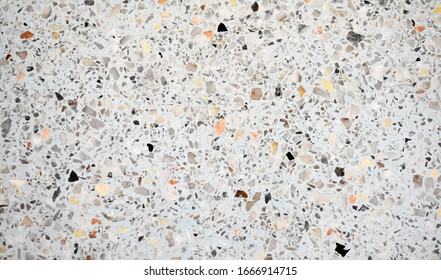 Polished stone floor, beautiful pattern, suitable for interior decoration and design