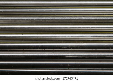 polished titanium and aluminum rods and pipes