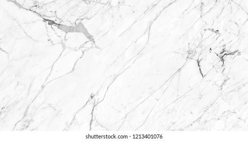 polished White ceramic tile. Premium Calacatta marble texture.