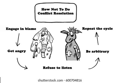 Political cartoon about conflict between political parties.