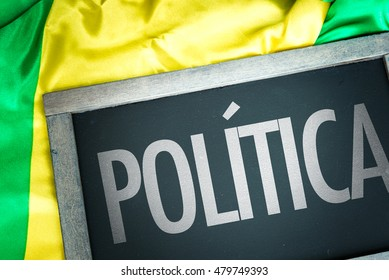 Politics written in portuguese