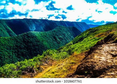 Poll Valley in Kohala District of the Big Island of Hawaii