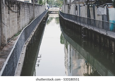 Pollution canal