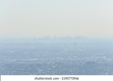 Pollution in Melbourne