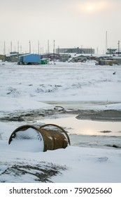 Pollution from oil industry on the North Slope of Alaska