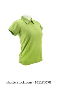 polo shirt on mannequin