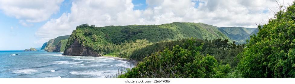 Polulu Lookout - Big Island Hawaii - North Shore