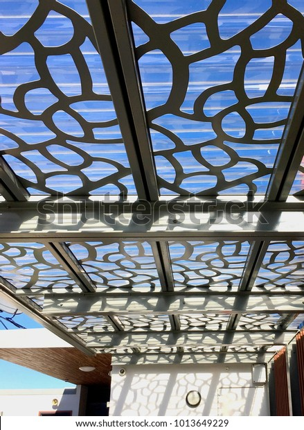 Polycarbonate Roofing Contemporary Laser Cut Metal Stock