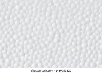 Polystyrene ,Styrofoam foam texture abstract white background.