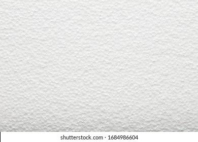 Polystyrene, Styrofoam foam texture. Universal packaging material. Insulation and noise insulation.
