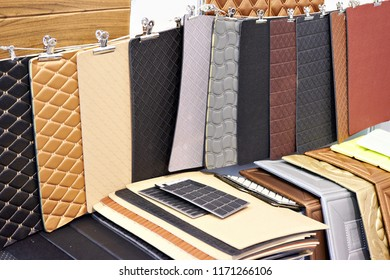 Polyvinyl upholstery for salons for cars, trucks and tractors
